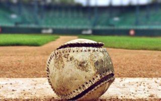 Softball balls and bat