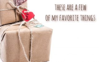 Text My Favorite Things Graphic