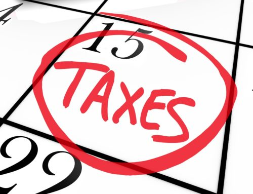 Tax Time Promises to Ourselves
